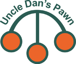 Uncle Dan's Pawn - the original three ball crest