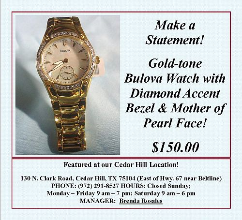 UDP - Bulova Watch -WP