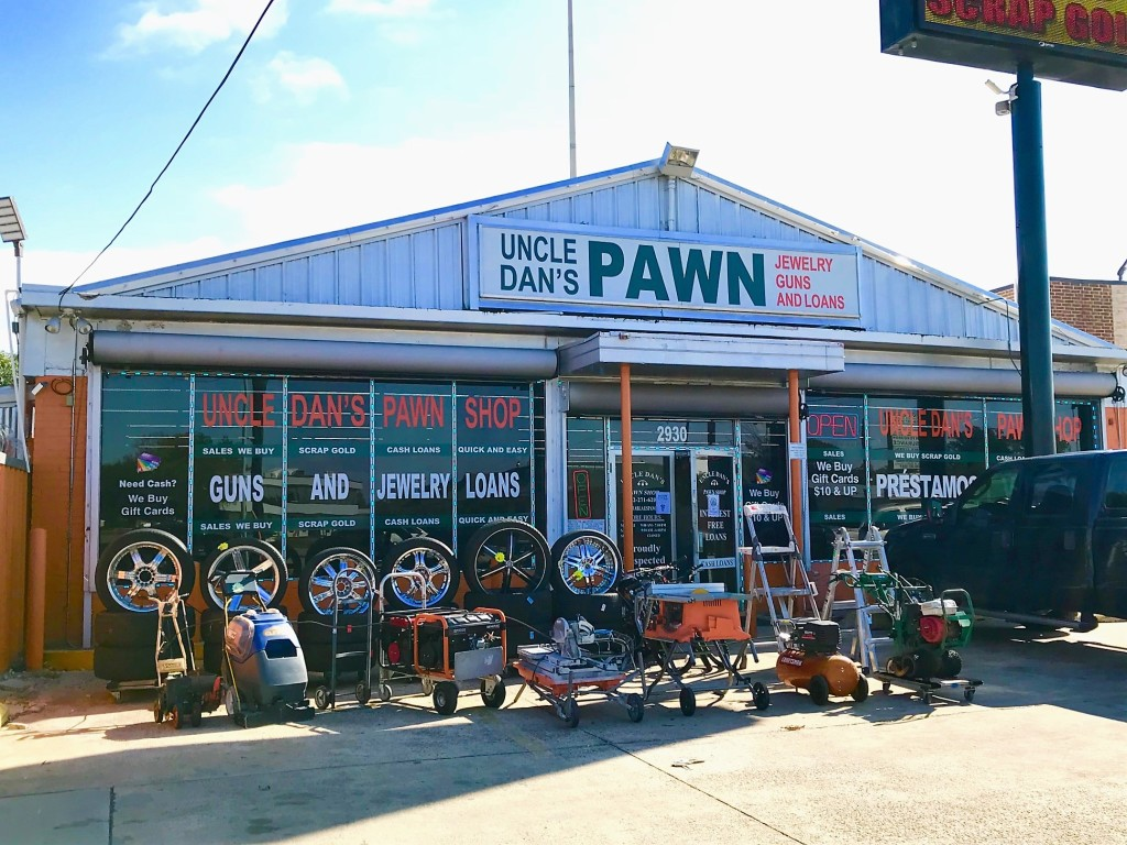 Uncle Dan's Pawn - Garland storefront