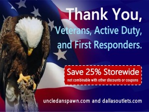 Memorial Day Discounts for Veterans, Active Duty Military, and First Responders