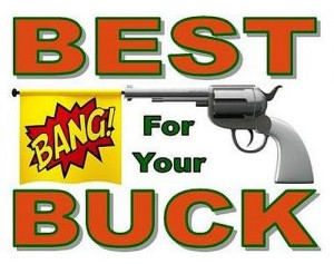 Get the best BANG for your buck at Uncle Dan's Gun Shop