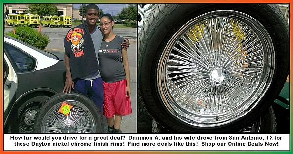 UDP - San Antonio couple with Rims post