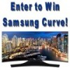 Image thumbnail: Samsung Curve Smart TV. Enter to win Samsung Curve!