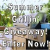 thumbnail image of backyard patio with KitchenAid grill - Summer Grillin' Giveaway