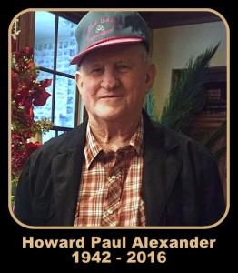 Howard P. Alexander Memorial Service