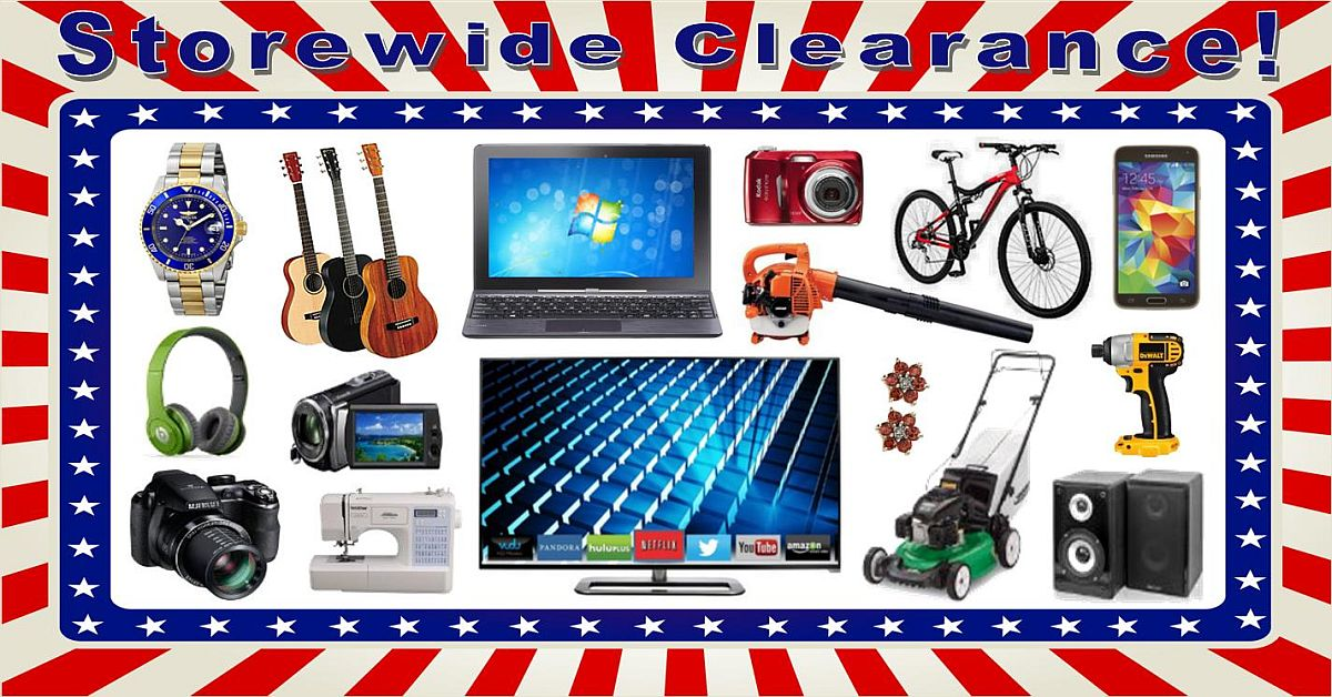 Uncle Dan's Pawn Shops - Storewide Clearance and Tent Sale-a-bration!