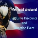 Memorial Day Discounts & Donation Event