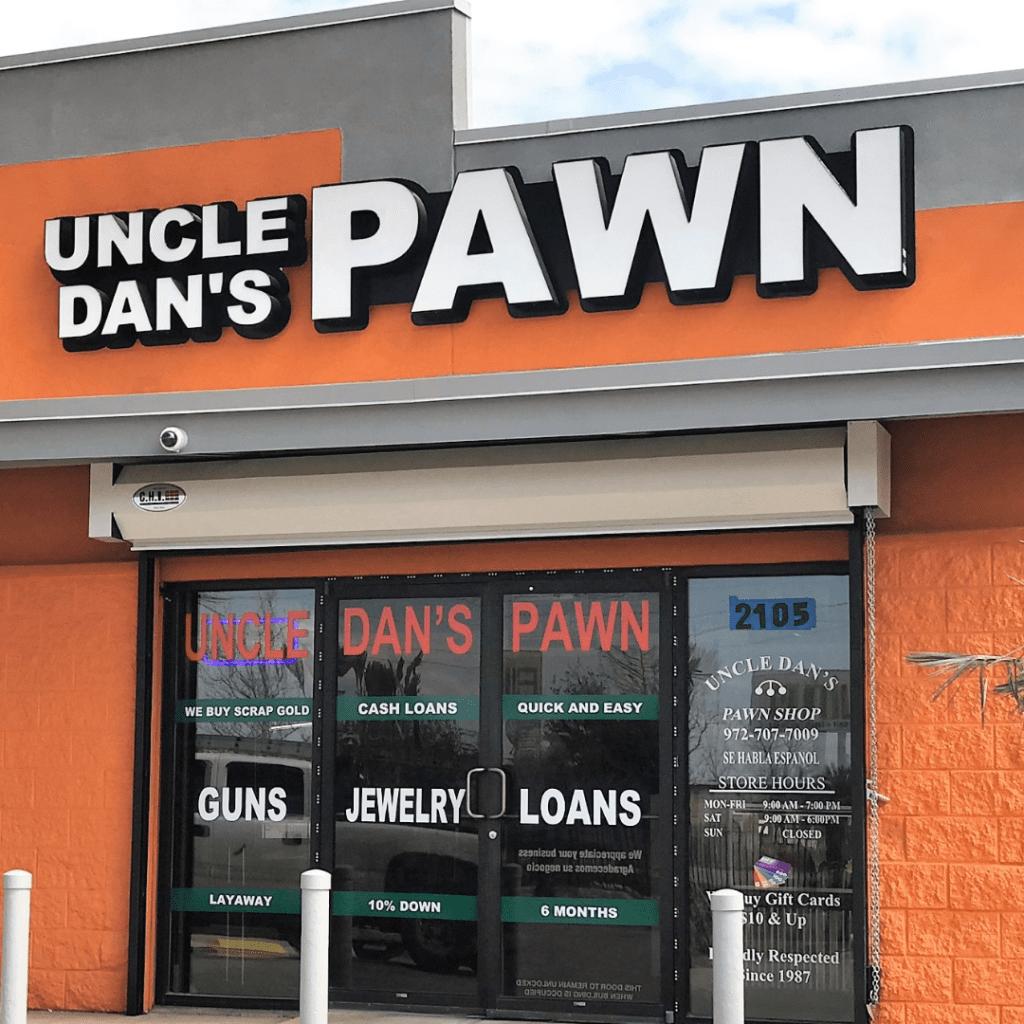 Northwest Highway storefront