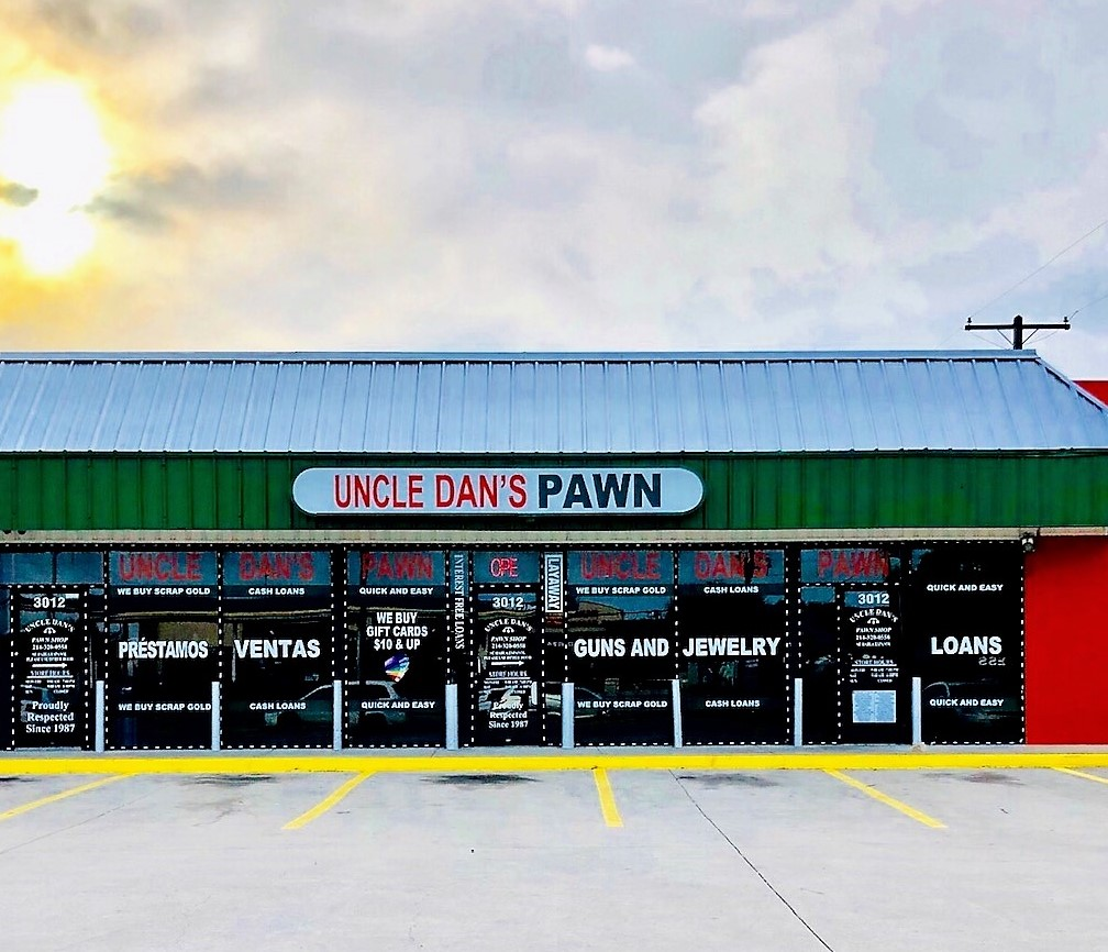 Uncle Dan's Pawn Big Town Mesquite storefront