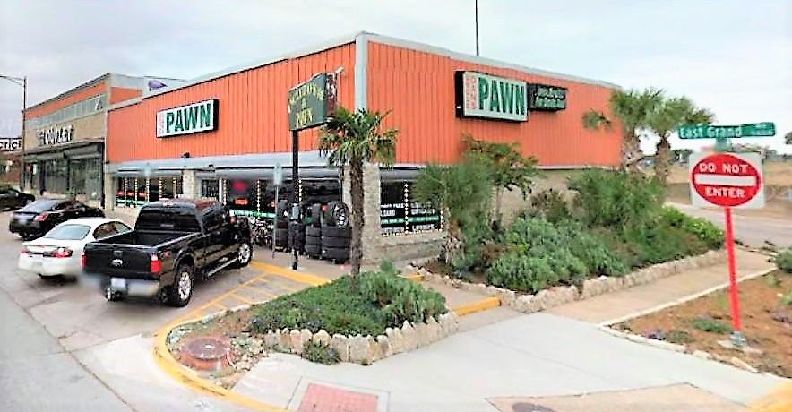 Uncle Dan's Pawn East Dallas storefront