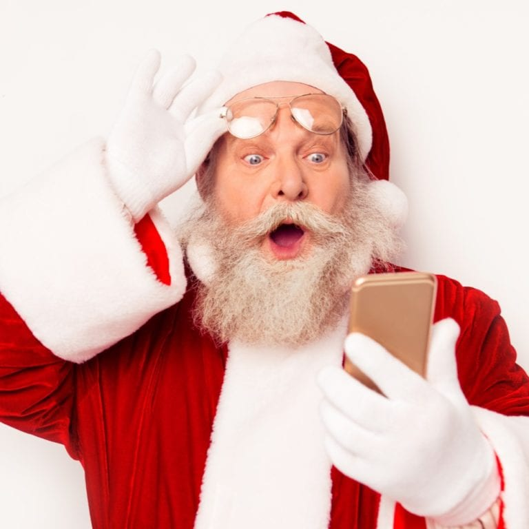 Even Santa shops our Black Friday Deals & Steals!