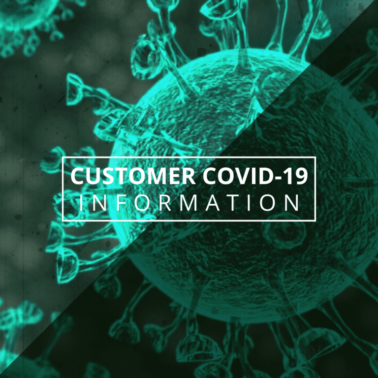 Customer COVID-19 Information: Stop the spread, use our app