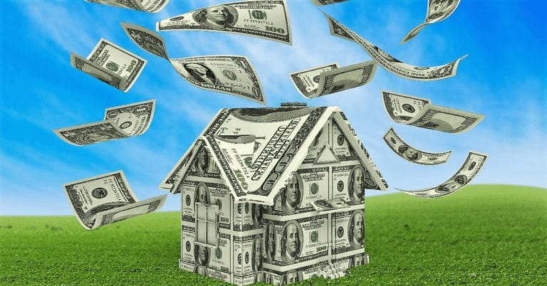 get a quote - house made of money